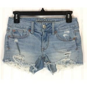 American Eagle Outfitters shorts denim Shortie